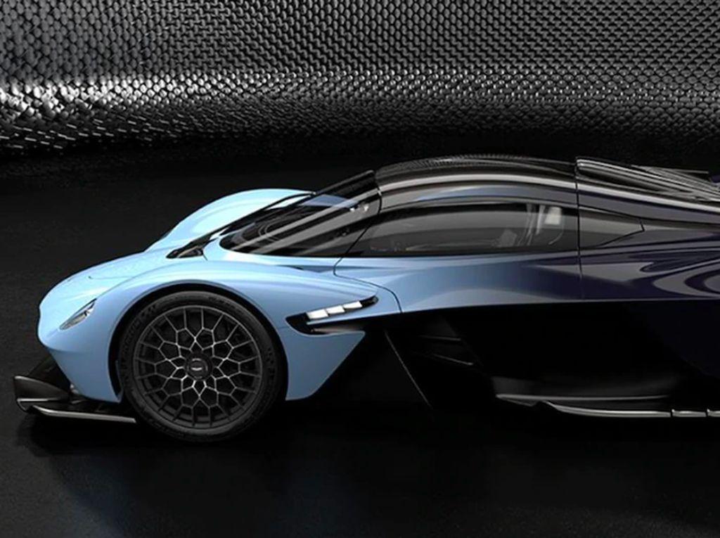 Intip Jeroan Mobil Buas Aston Martin, Pakai Teknologi F1