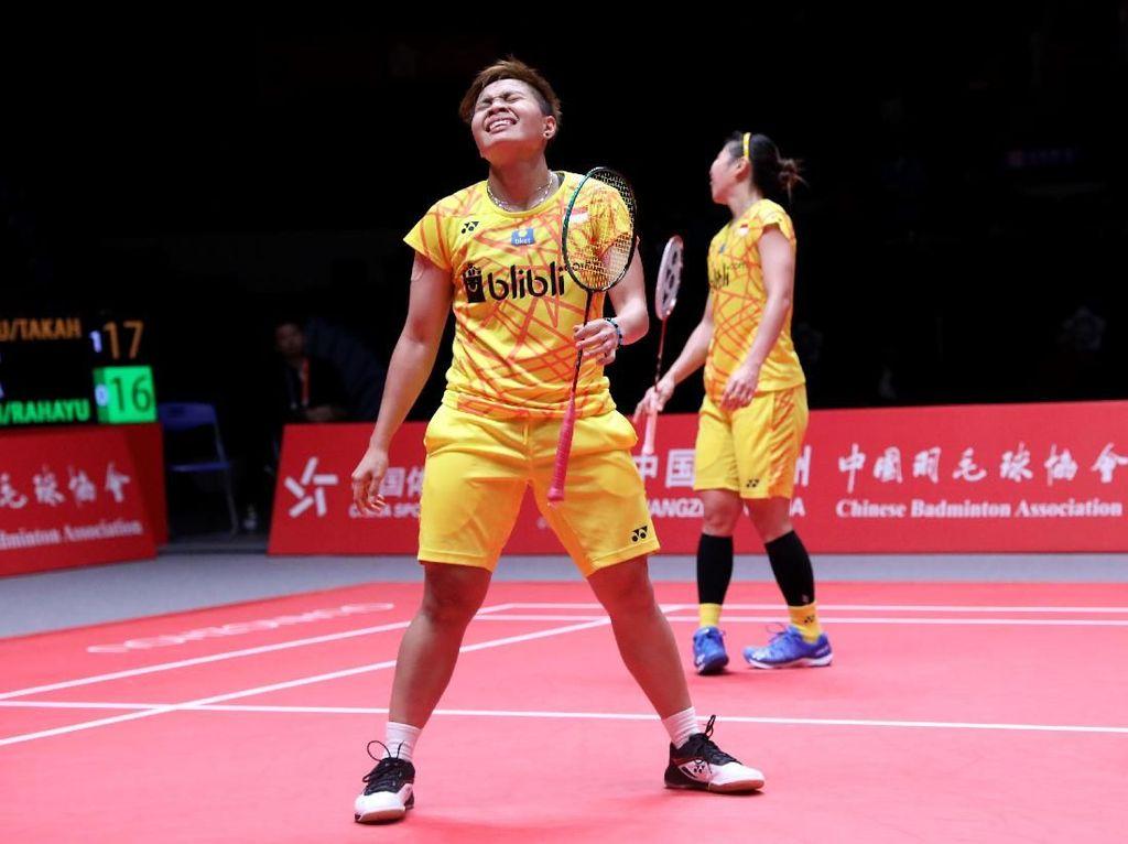 Kalah Lagi, Peluang Greysia/Apriyani ke Semifinal Amat Tipis
