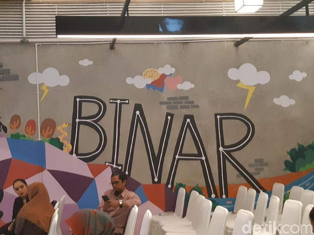 Mural Kecoa, Semut, dan Ular Ikut Mejeng di Kampus Baru Binar Academy