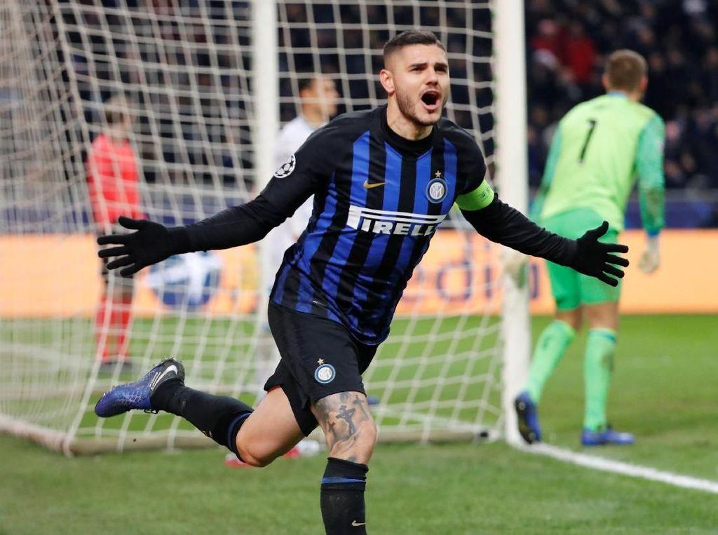 Peluang Icardi Bertahan di Inter 100%