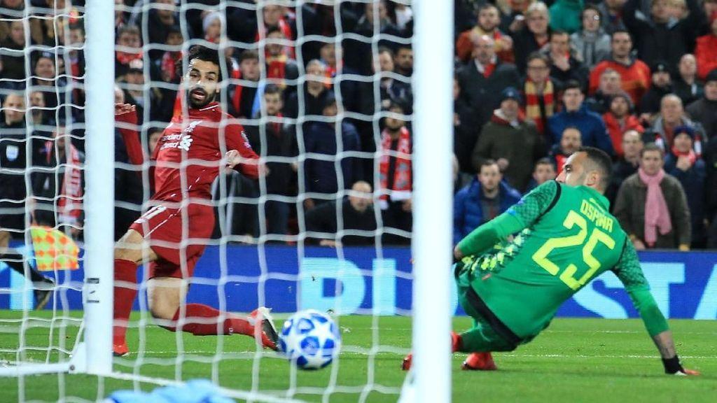 Liverpool Ungguli Napoli 1-0 di Babak Pertama