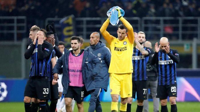 Inter Milan tersingkir dari Liga Champions. (Foto: Stefano Rellandini/Reuters)