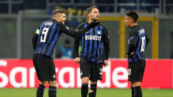 Inter Milan gagal ke babak 16 besar Liga Champions. (Foto: Stefano Rellandini/Reuters)