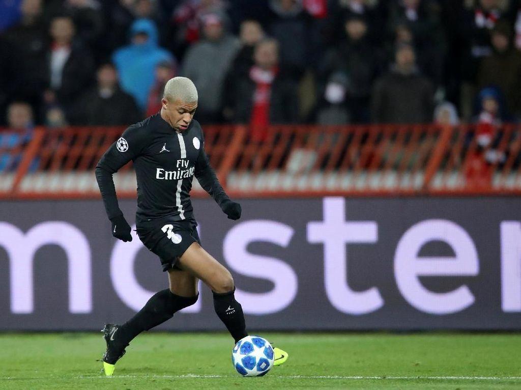 Kylian Mbappe Tak Terbendung di Fase Grup Liga Champions