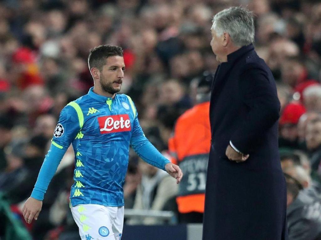 Nilai 8 untuk Musim Perdana Ancelotti di Napoli