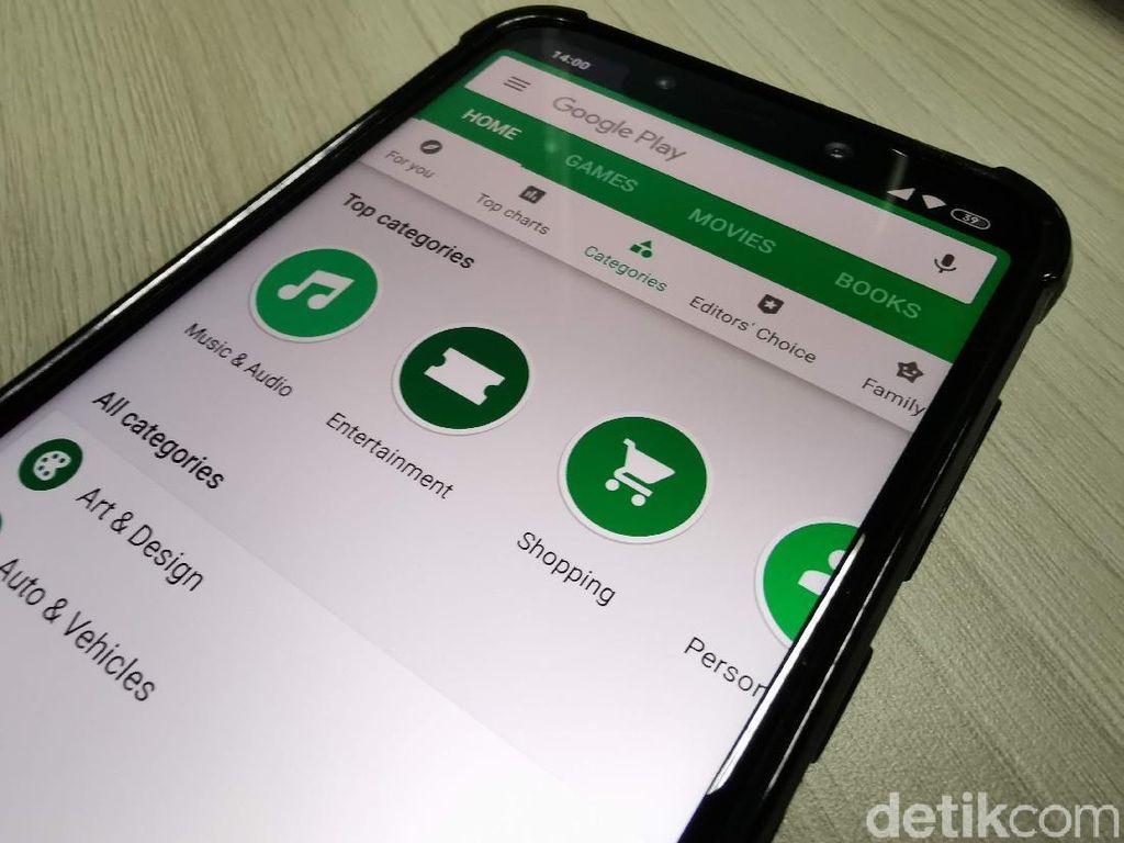 Dilarang Jual Ganja di Platform Google