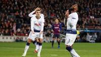 Spurs di Camp Nou: Bersusah-susah Dulu, Lalu Tiket 16 Besar Didapat