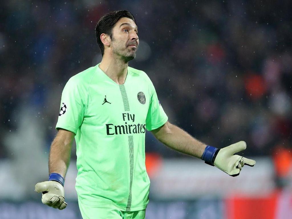 Kecewanya Buffon Lihat Inter dan Napoli Tersingkir