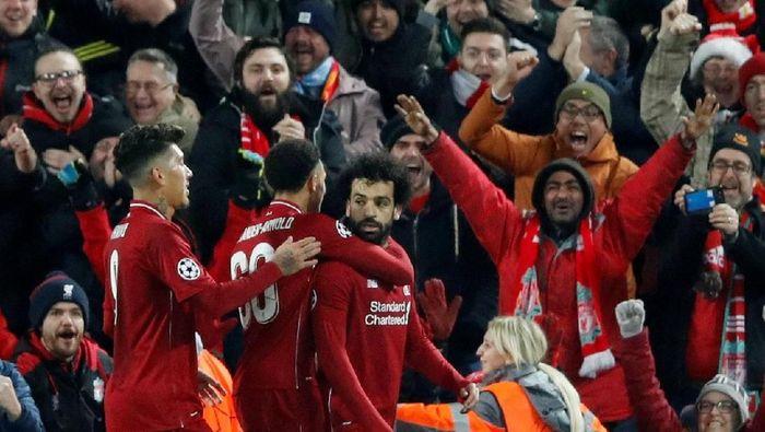 Liverpool akan menghadapi Bayern Munich di leg pertama babak 16 besar Liga Champions, Rabu (20/2/2019) dini hari WIB. (Foto: Carl Recine/Reuters)