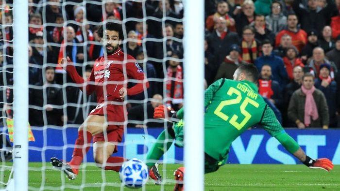 Mohamed Salah ada di puncak daftar top skorer Premier League. (Foto: Reuters)