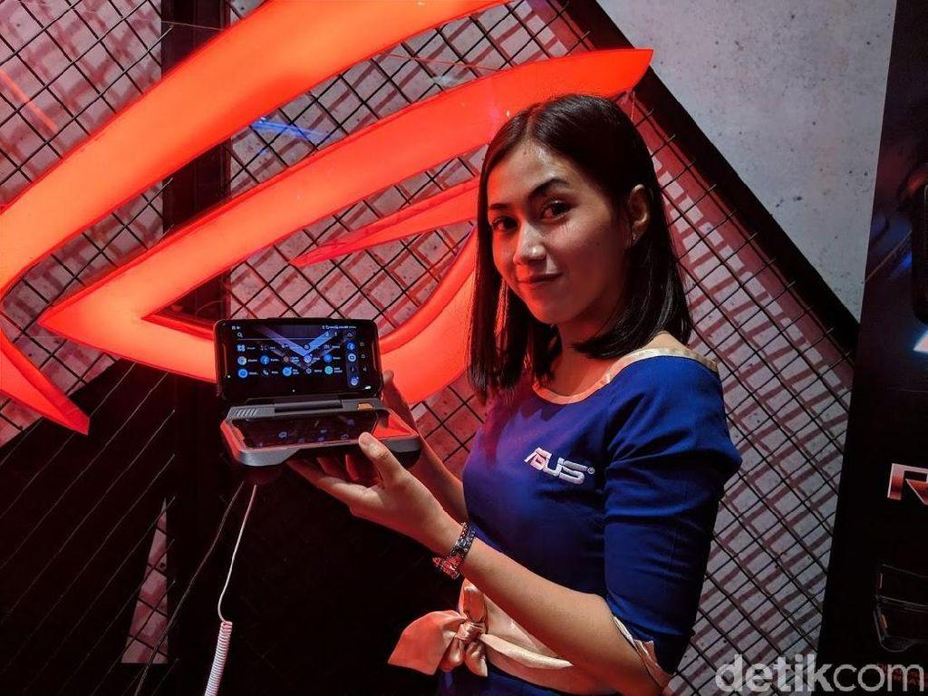 Penampilan Gahar Ponsel Gaming Asus ROG Phone