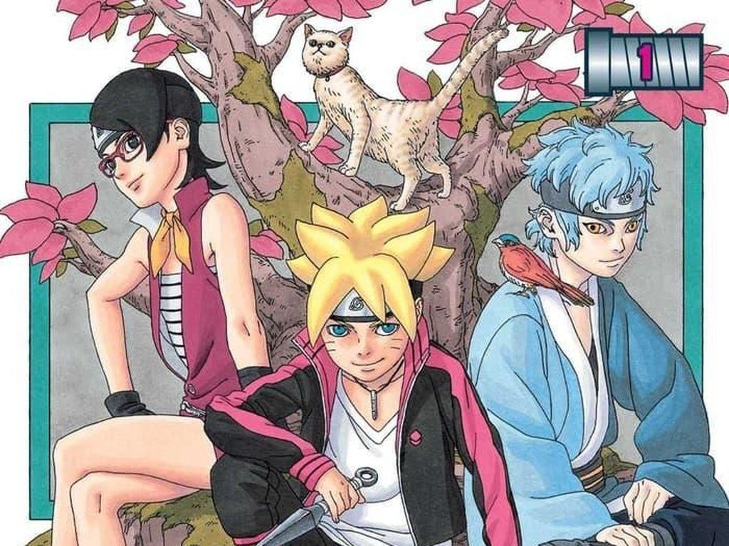 Manga Boruto akan Terbit di Indonesia