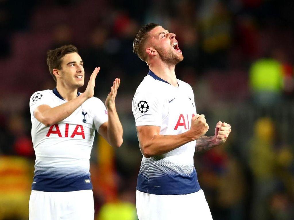 Ada Bantuan Dewa Sepakbola dalam Kelolosan Tottenham