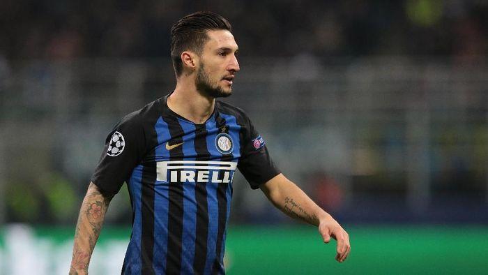 Inter Milan mempermanenkan status Matteo Politano yang sebelumnya dipinjam dari Sassuolo (Foto: Emilio Andreoli/Getty Images)