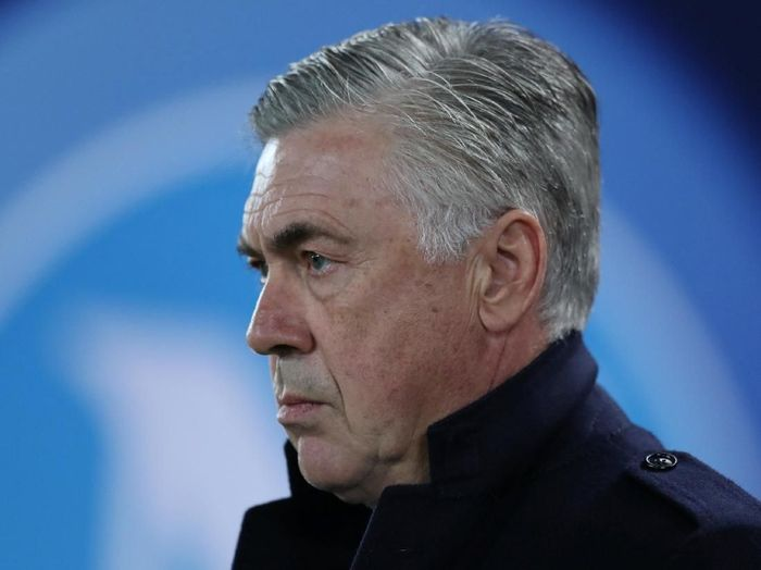 Pelatih Napoli, Carlo Ancelotti. (Foto: Jon Super/Reuters)