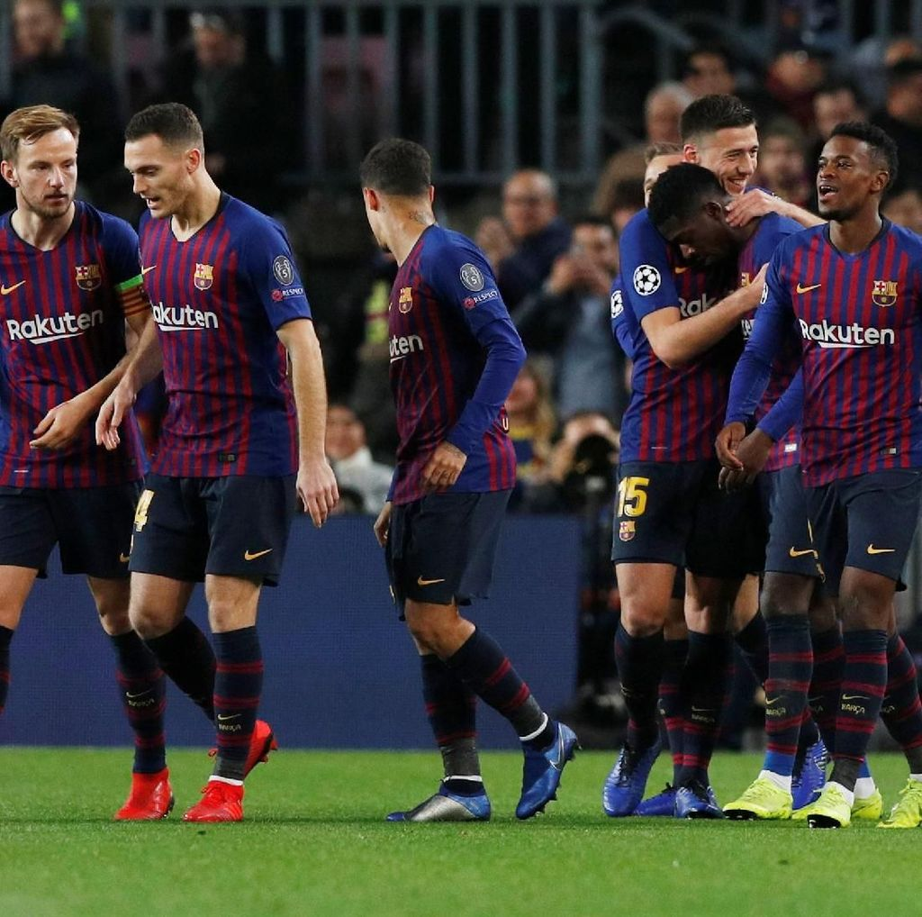 Di Liga Champions, Barca Sudah Lima Tahun Lebih Tak Kalah di Kandang