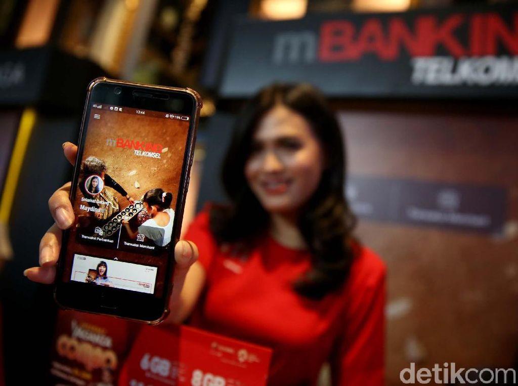 Aplikasi mBanking Telkomsel Integrasikan Banyak Bank
