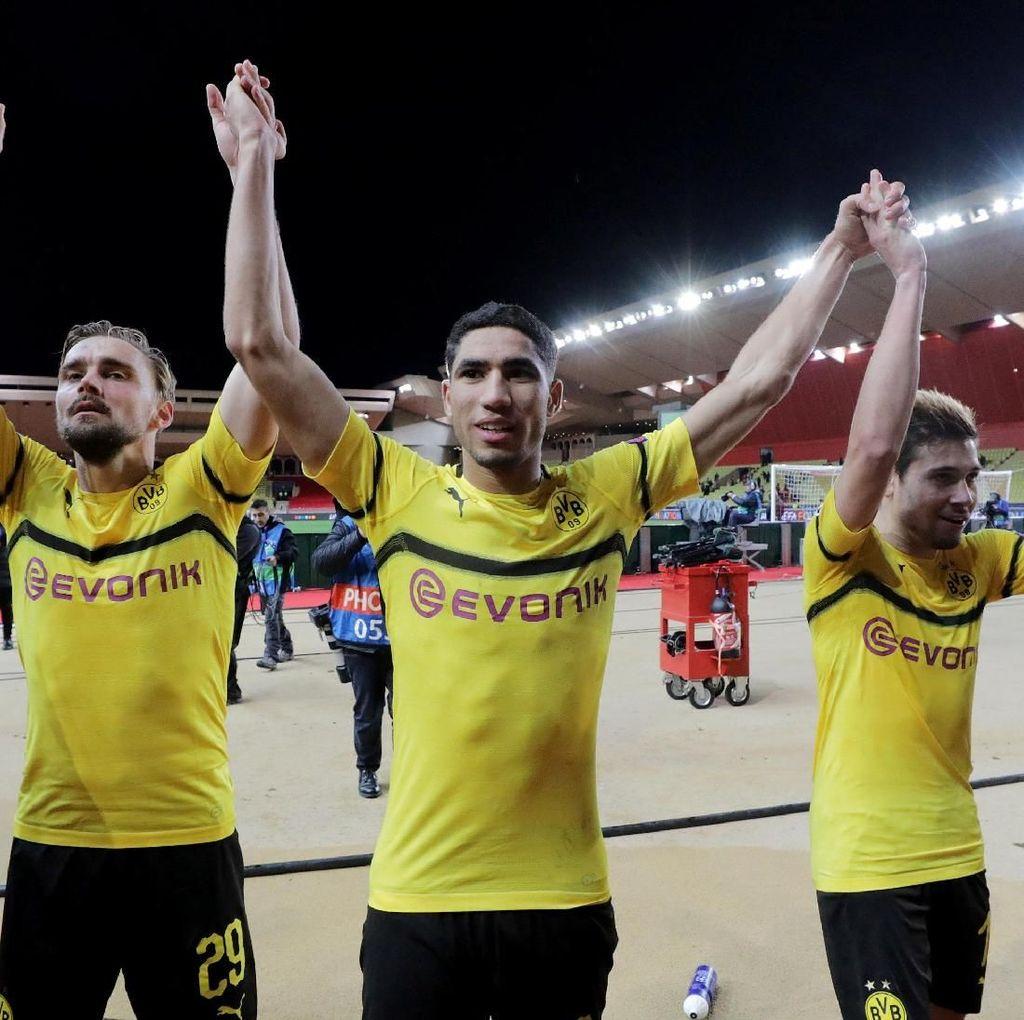 Hasil Liga Champions: Dortmund Juara Grup A, Atletico Runner-up