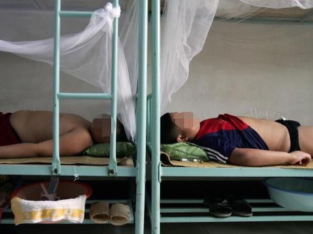 Mengintip Kamp Khusus Anak-anak Kegemukan di China