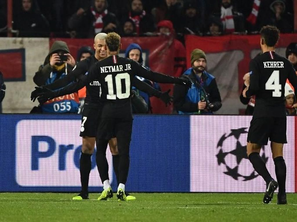 Bukan Juventus atau Barcelona, PSG Tersubur di Fase Grup Liga Champions