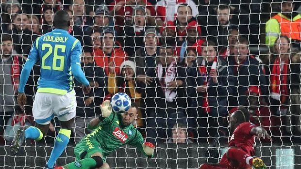 Hasil Liverpool Vs Napoli: Menang 1-0, The Reds Lolos ke 16 Besar