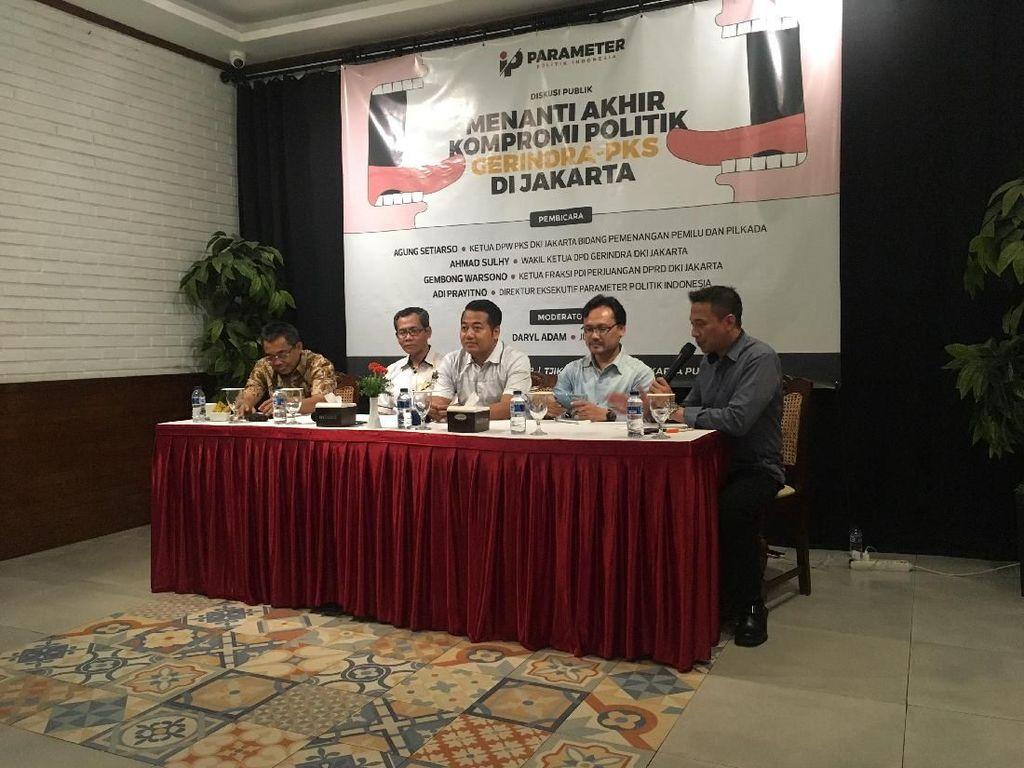 Wagub DKI Belum Terpilih, Gerindra: Kami Tidak Menghambat