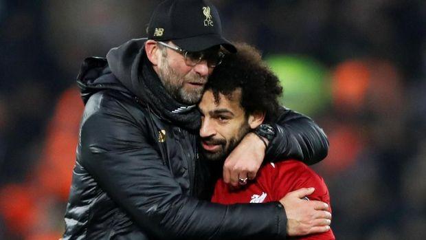 Gol Mohamed Salah bawa Liverpool lolos ke babak berikutnya Liga Champions.