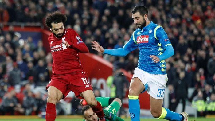 Liverpool kalahkan Napoli dan lolos ke 16 besar Liga Champions (Carl Recine/Reuters)