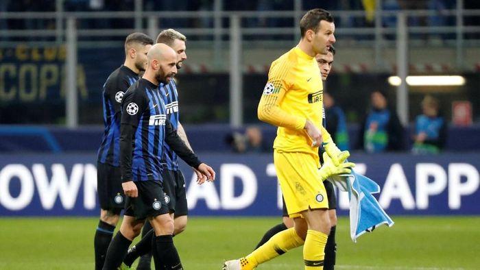 Inter Milan terdepak dari Liga Champions. (Foto: Stefano Rellandini/Reuters)