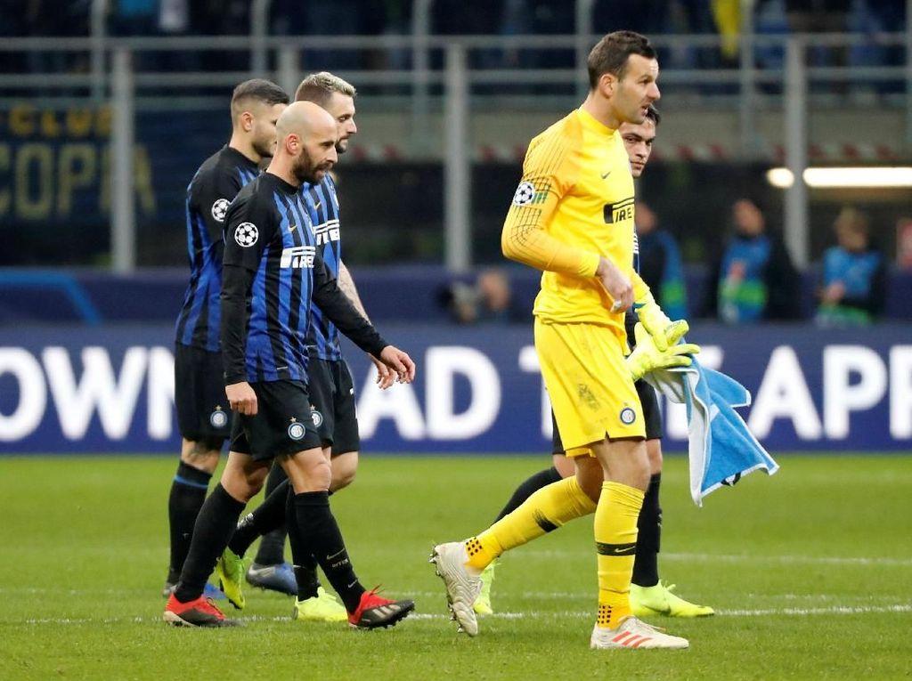 Tangis Wanda Nara Usai Inter Terdepak dari Liga Champions
