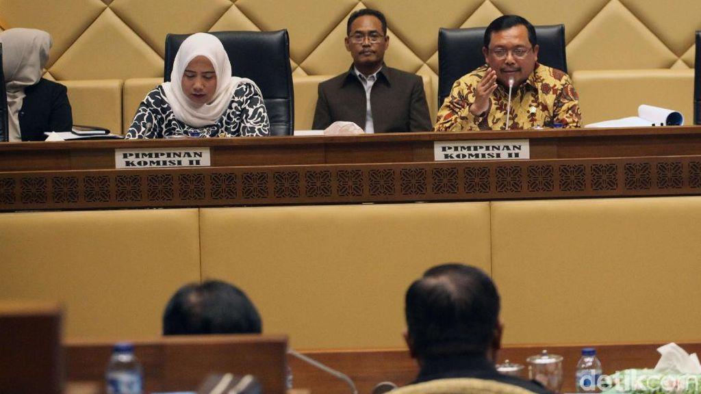 Komisi II-KPU dan Bawaslu Bahas Peraturan KPU