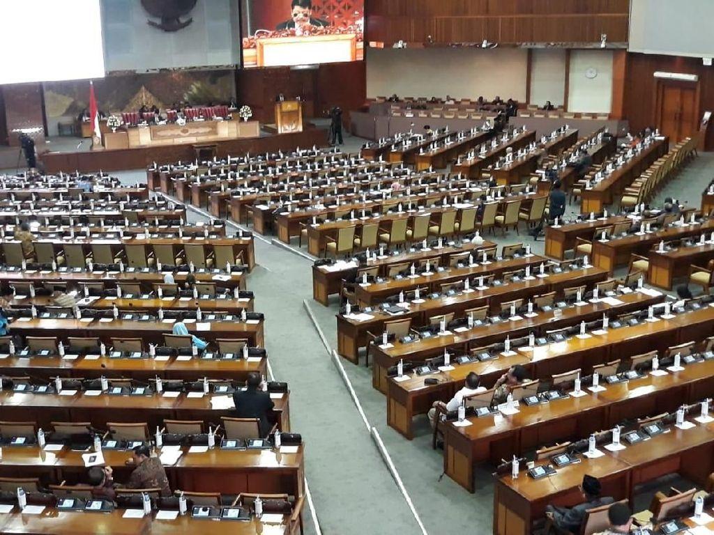 Hanya Dihadiri 80 Anggota, Sidang Paripurna DPR Ambil 3 Keputusan Penting