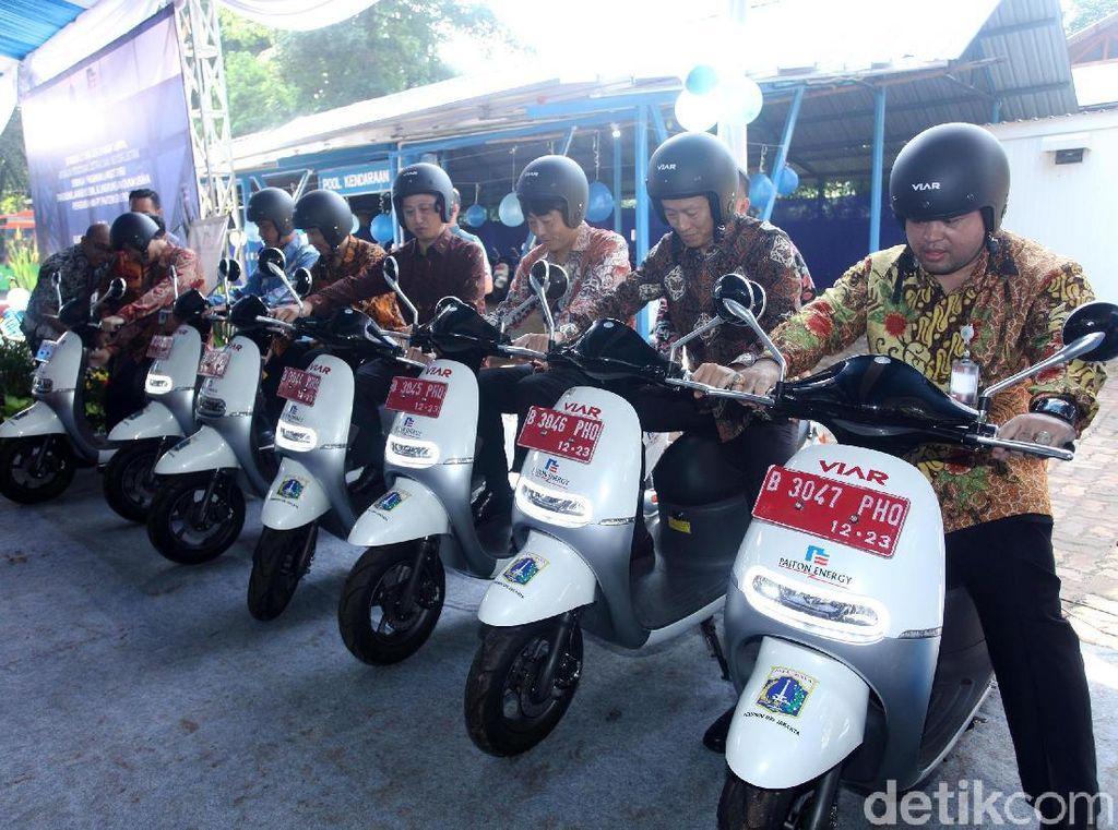 Motor Listrik Jadi Kuda Pacu Pemprov DKI Jakarta