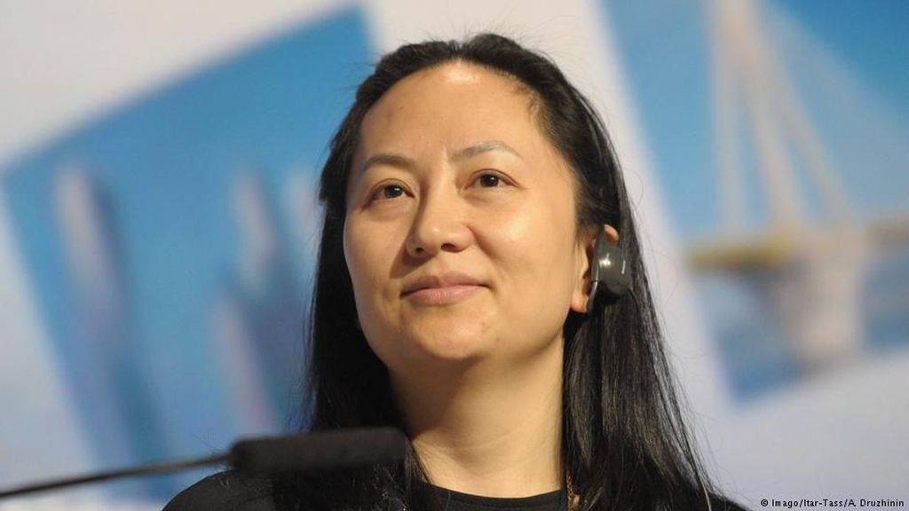 China Sambut Pembebasan Direktur Huawei Meng Wanzhou di Kanada