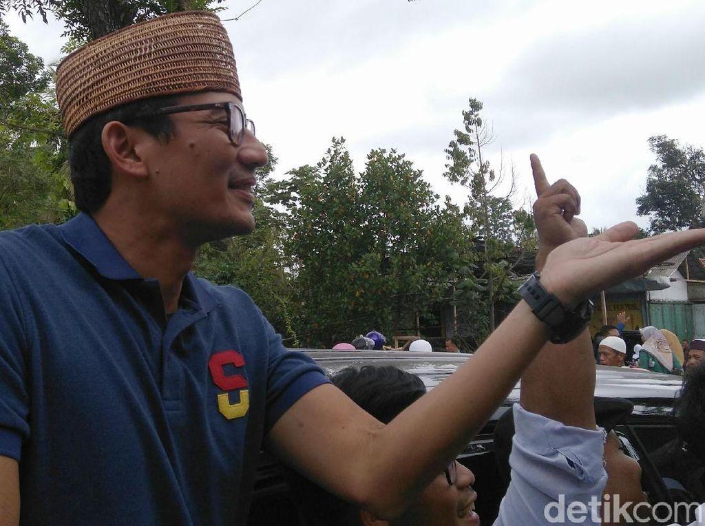Tak Cuma di Solo, Sandi Janjikan Banyak Pos Tempur di Jateng