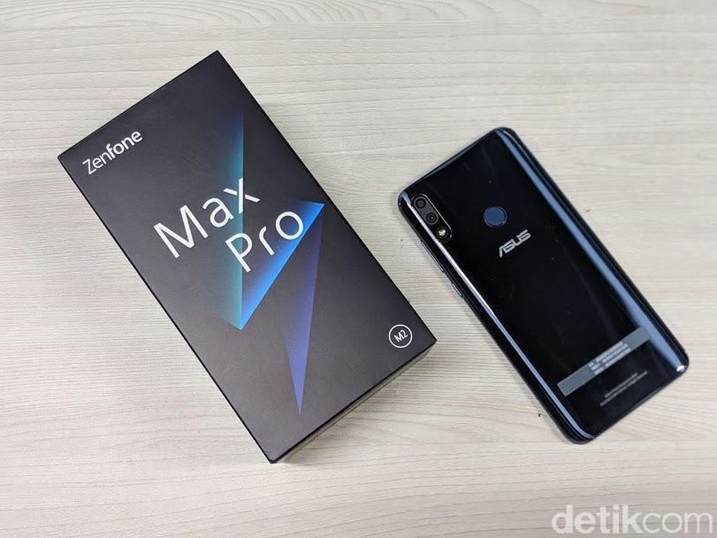 Zenfone Max Pro M2 Terima Update Peningkatan Kamera