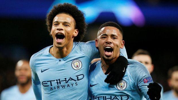 Manchester City jadi salah satu tim unggulan di pengundian babak 16 besar