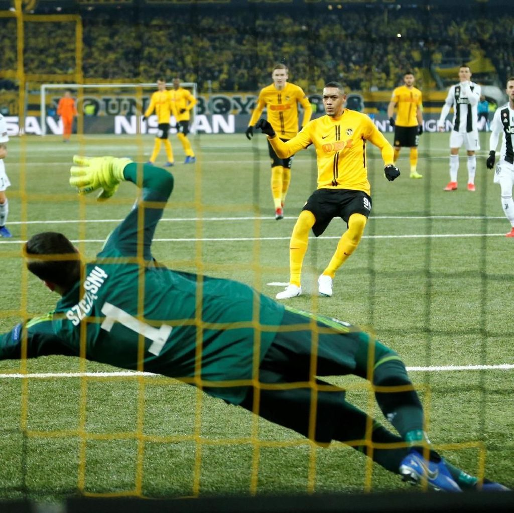 Fase Grup Liga Champions 2018/2019: 96 Laga, 275 Gol