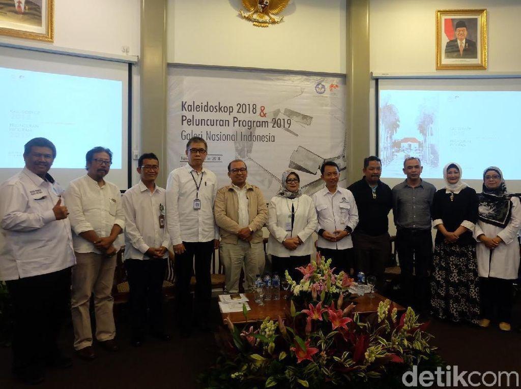 Sketsa Jadi Strategi Edukasi bagi Pengunjung Galeri Nasional Indonesia