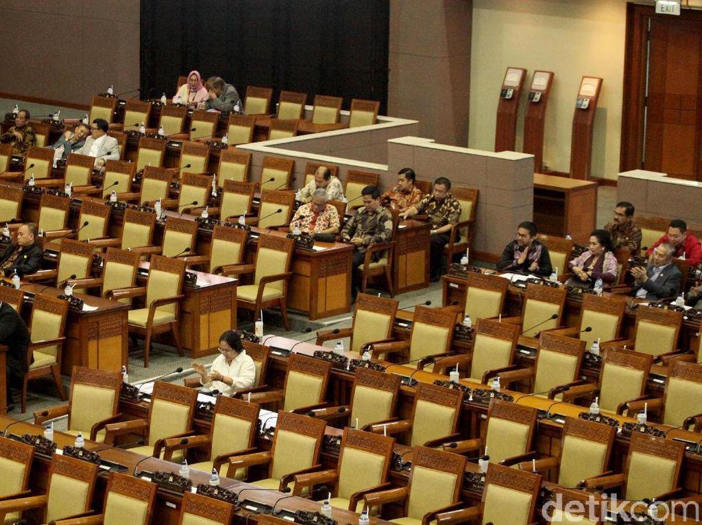Duh! Banyak Anggota DPR Bolos Rapat Paripurna