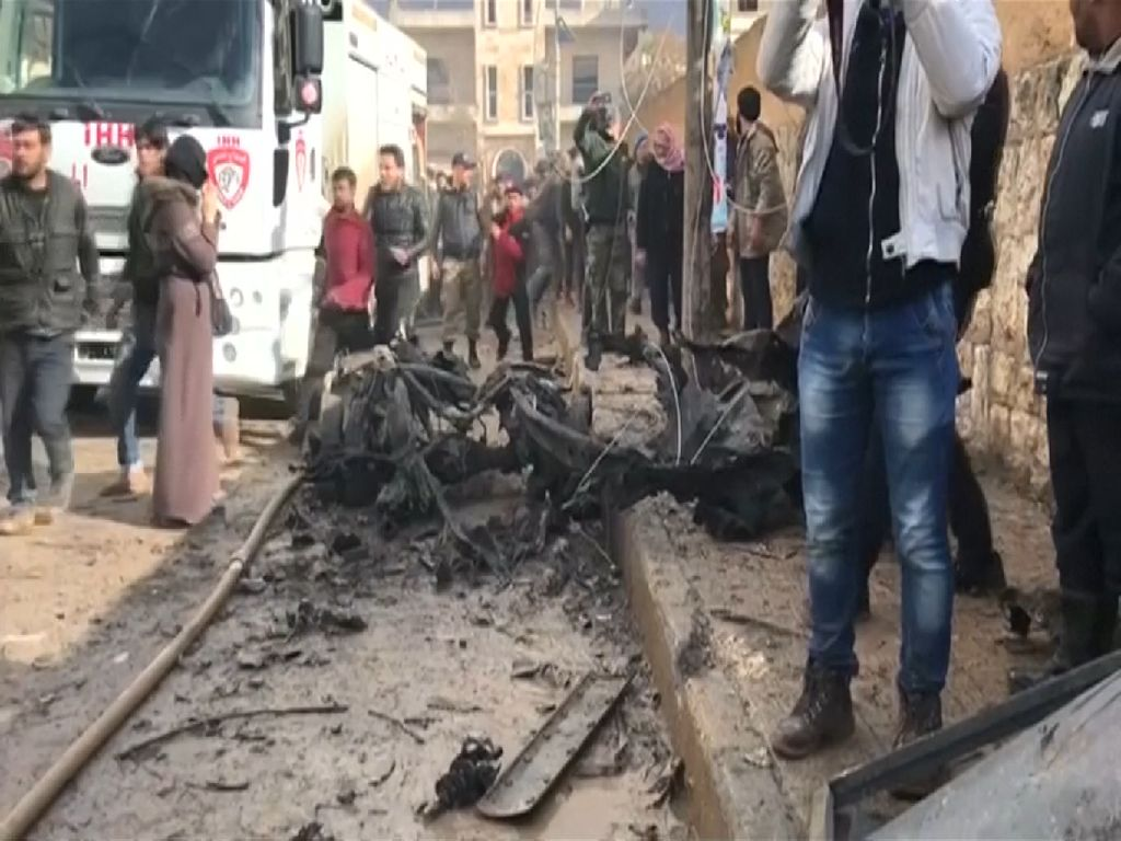 3 Warga Sipil Tewas Akibat Rangkaian Ledakan Bom Motor di Suriah