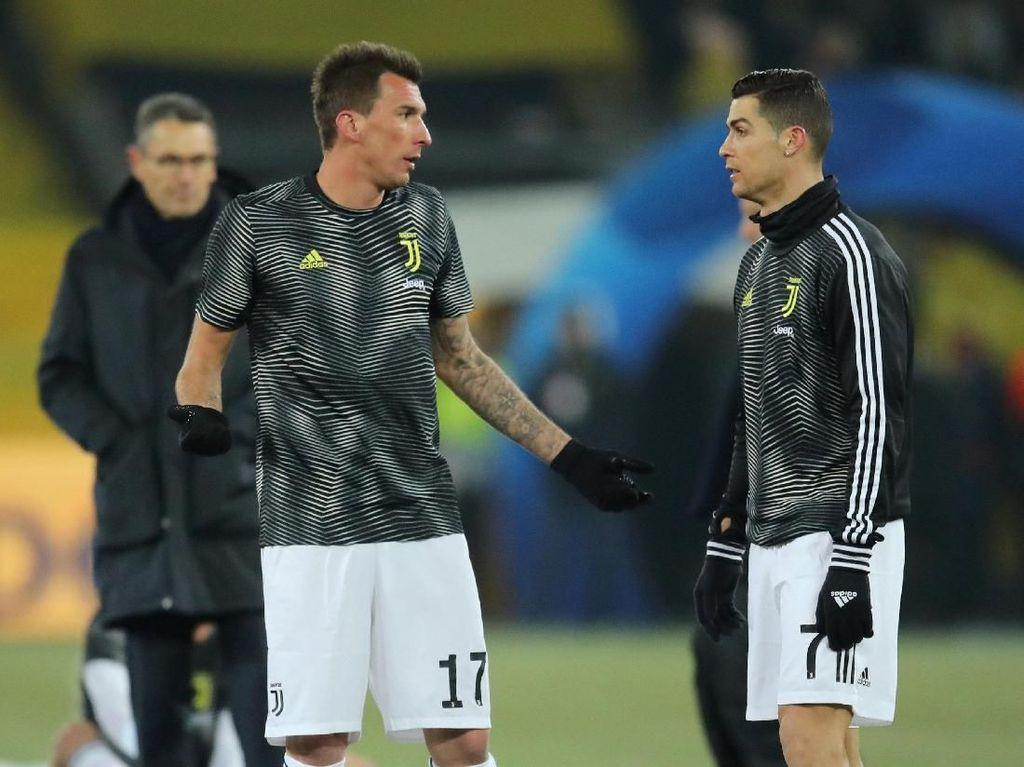 Tinggalkan Juventus, Mandzukic Sempat Ribut dengan Ronaldo?