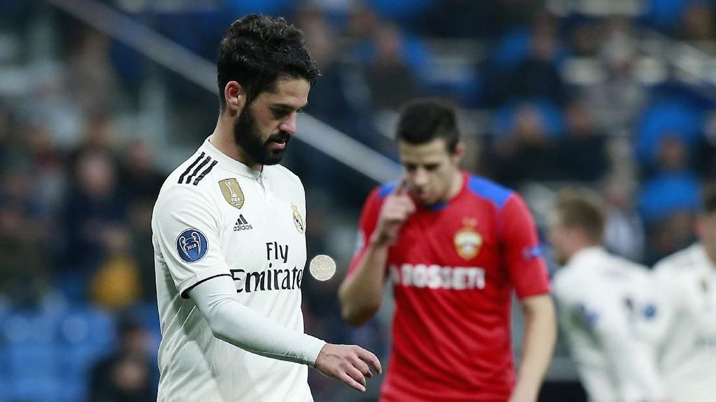 Video Gol-gol CSKA yang Mempermalukan Madrid