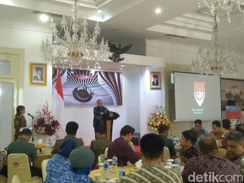 Sambil Ngopi, Forum Bela Negara Kenalan dengan Pimpinan DPRD DKI