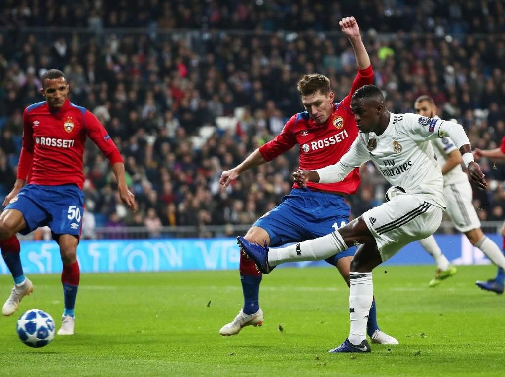 Real Madrid Jadi Sasaran Ejekan Usai Dipecundangi CSKA