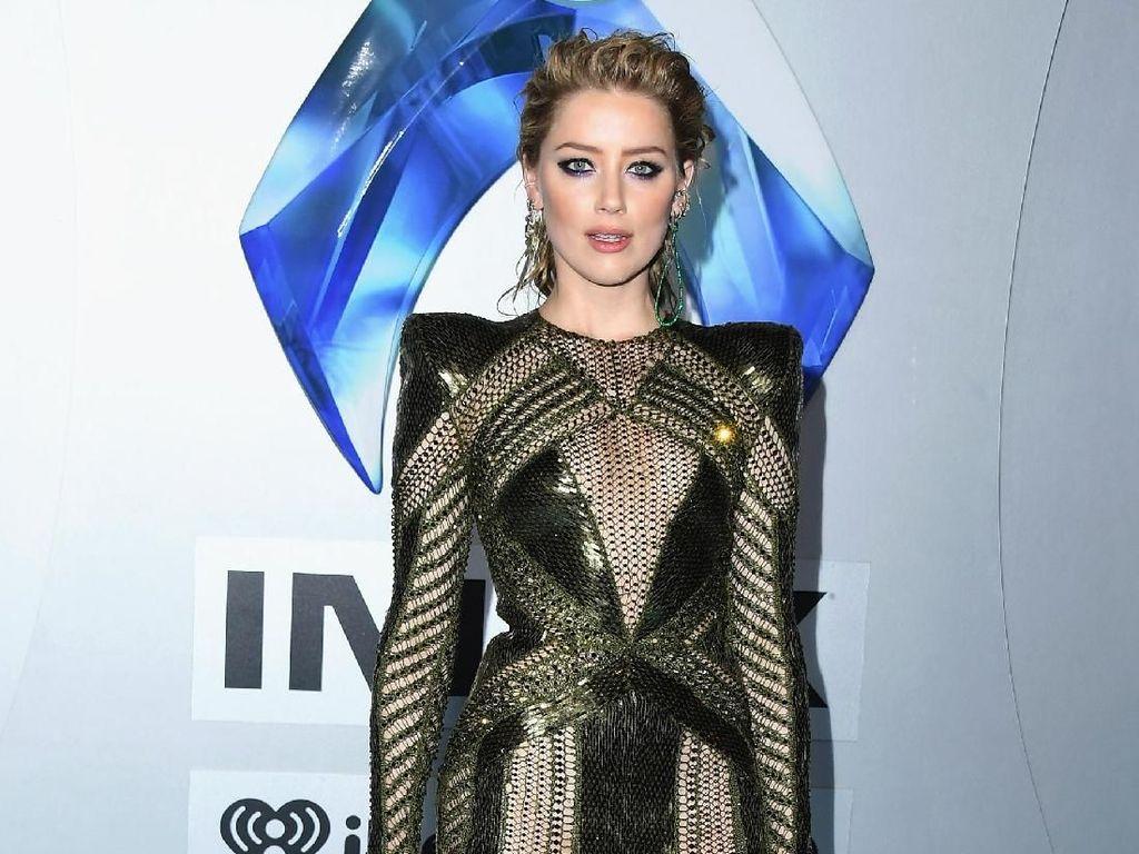 Fakta Tentang Amber Heard, Pemeran Ratu Mera di Aquaman