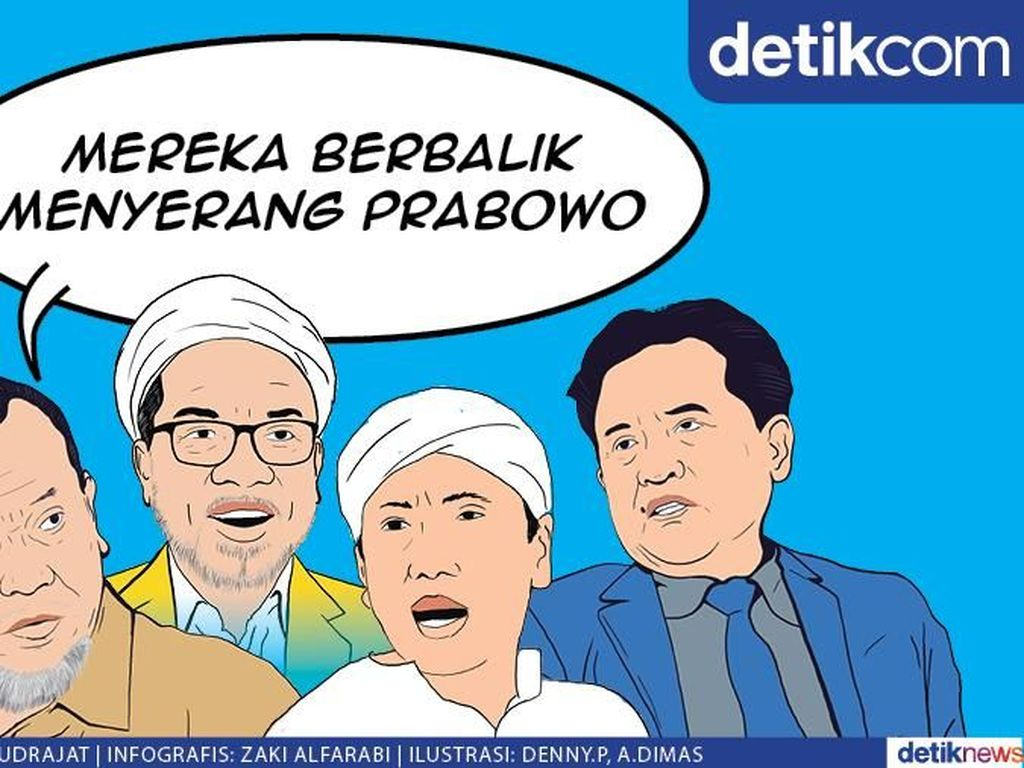 Dulu Sekubu, Kini Serang Prabowo