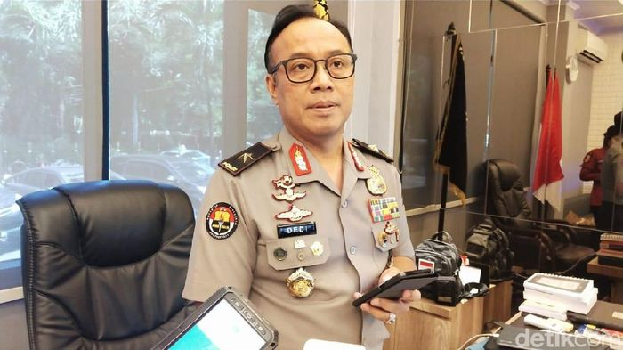 Karo Penmas Divisi Humas Polri Brigjen Dedi Prasetyo  (M Guruh Nuary/detikcom)