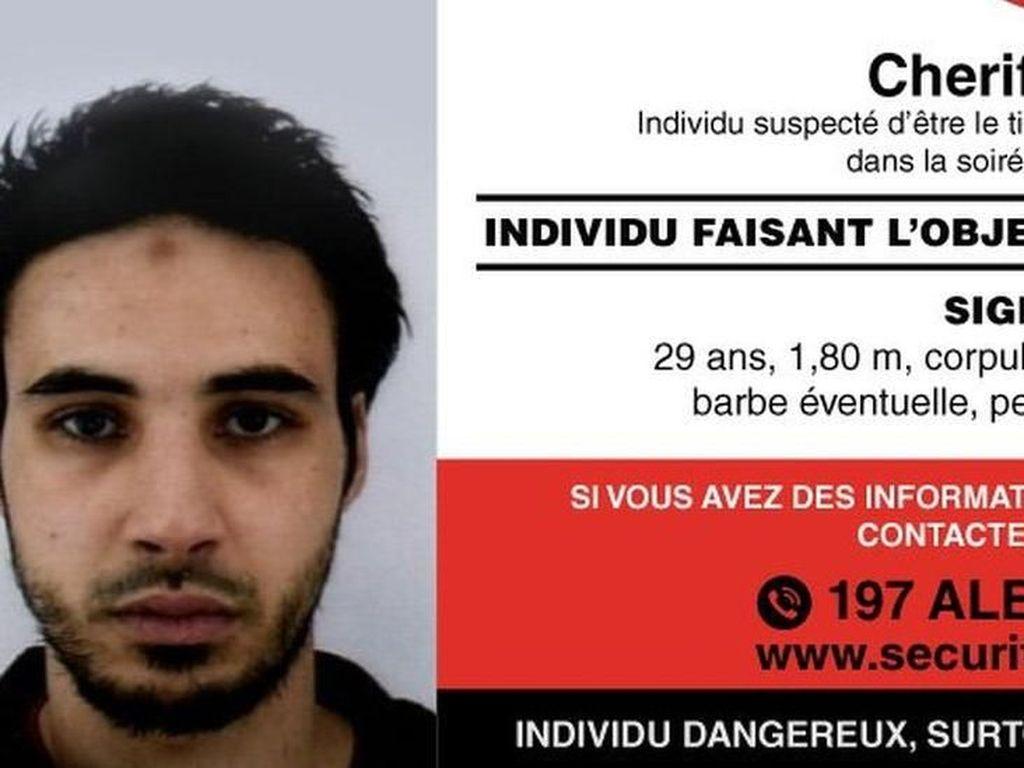 5 Hal Soal Pelaku Penembakan Strasbourg yang Masih Diburu Prancis