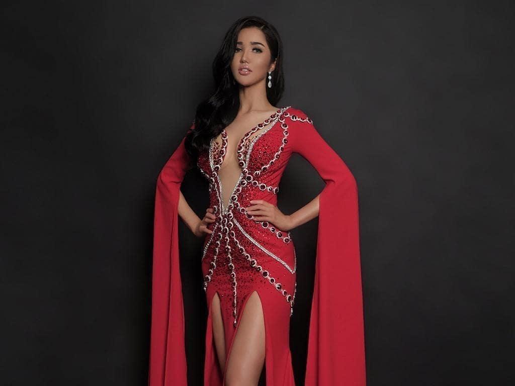 Penjurian Miss Universe 2018, Ini Gaun Seksi yang Akan Dipakai Sonia Fergina